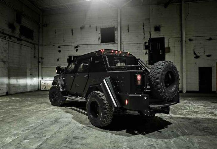 Este es el Gurkha, de Terradyne, que busca reemplazar al Hummer en las calles del mundo.
