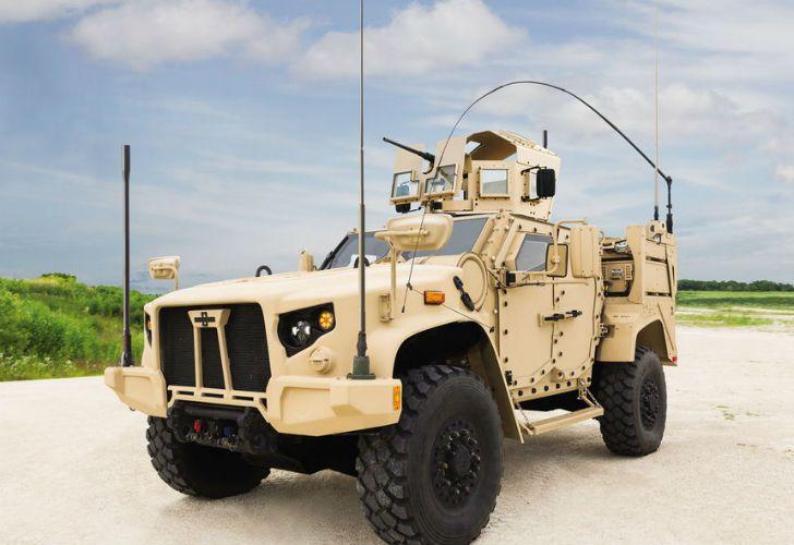 Este es el L-ATV o Lat-Vee, el modelo que reemplazará al Humvee en las filas estadounidenses.