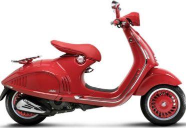 Esta es la nueva Vespa 946 Red.
