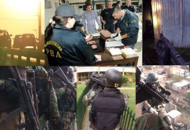 In situ. En los clips de operativos más importantes, Ritondo suele aparecer en escena junto al jefe de la Bonaerense,  Pablo Bressi.