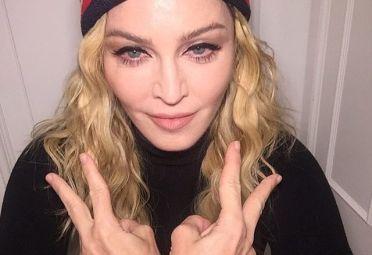 Con esta imagen Madonna invitaba por twitter a sus fans al concierto en apoyo a Hillary.