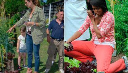 Awada y Michelle Obama