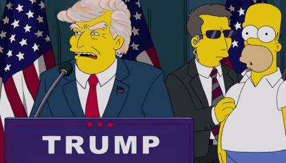 Trump Simpsons