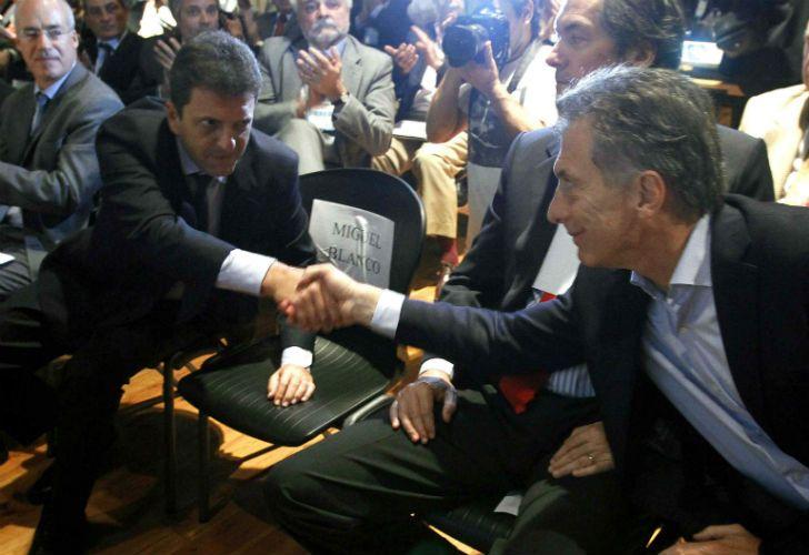 Macri y Massa