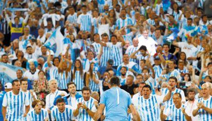 Locura. Explota Delpo ante los argentinos. Fue 6-4, 6-7, 6-3 y 7-5 a Karlovic. Antes, Delbonis había perdido por 6-3, 7-5, 3-6, 1-6 y 6-2 contra Cilic.