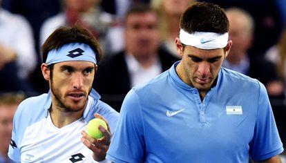 Flojo. La dupla argentina fue superada. La ilusión está en que Delpo no se haya desgastado, y soñar con el quinto punto.