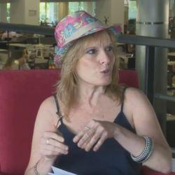 Marcela Tarrio, autora del libro Cuernos.