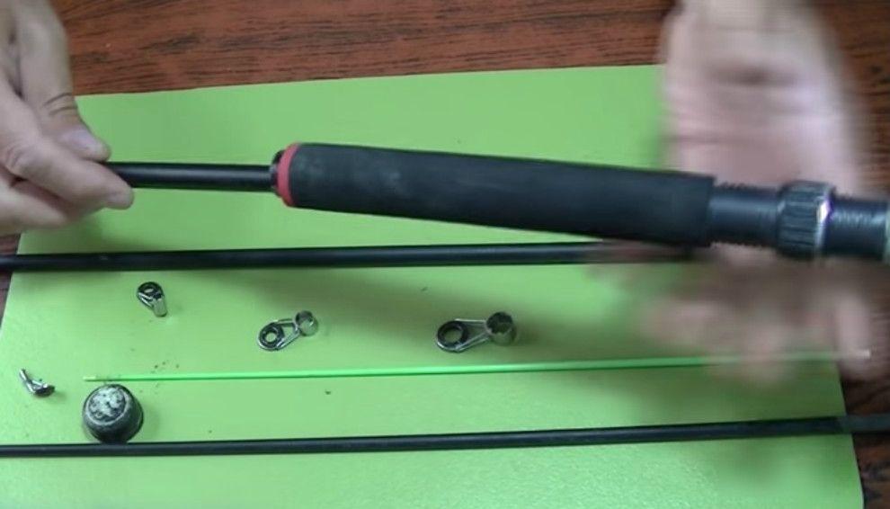 Video c mo reparar una ca a de grafito weekend - Como reparar una vitroceramica ...