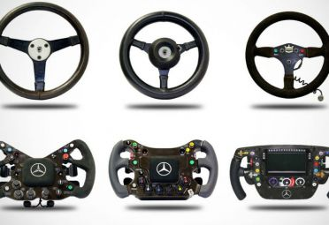 Así evolucionó el volante de F1.