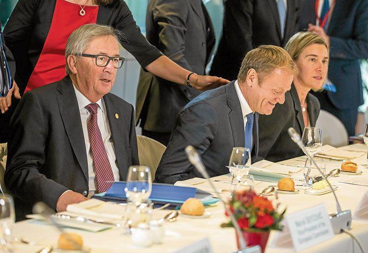 """Juncker. El presidente de la Comisión prometió enseñarle """"cómo es Europa""""."""