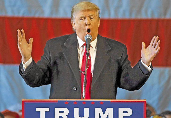 Chequeo. Según una empresa especializada, el 75% de lo que Donald Trump dijo durante la campaña no era cierto.