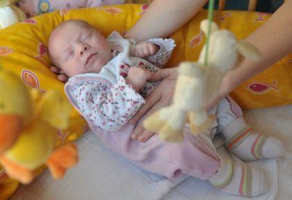 Con tranquilidad y rituales: así se duerme a un bebé