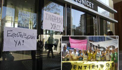 El Conicet, eje del debate por la investigación científica en la Argentina.
