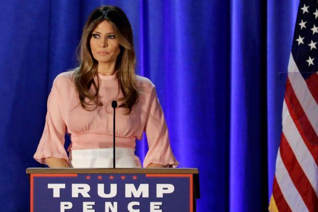 Melania Trump: de Eslovenia con amor. Primera dama con perfil bajo.