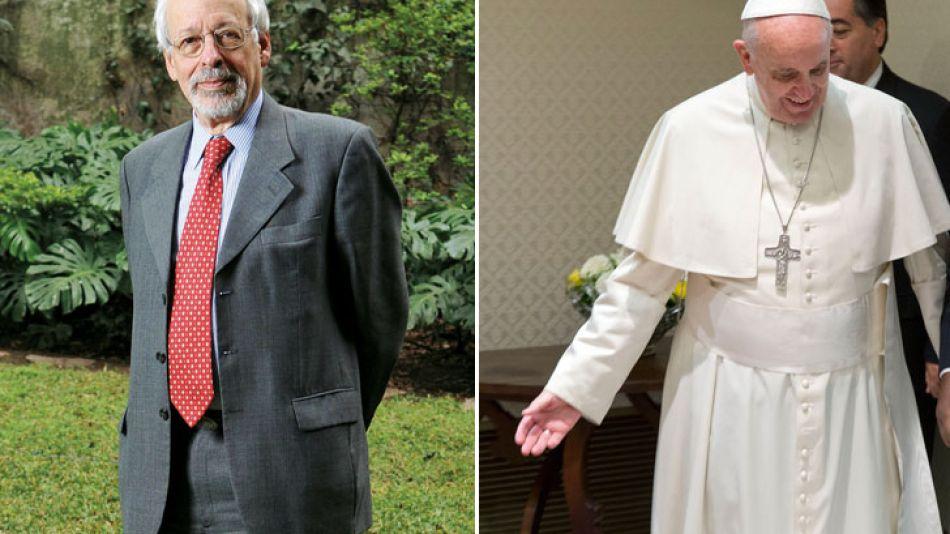 Horacio Vebitsky y Jorge Mario Bergoglio