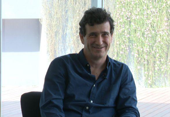 Marcos Novaro, autor de 'Así lo viví', con Héctor Magnetto.