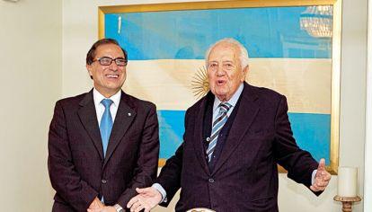 Encuentro. Homenaje que se celebró en la embajaba argentina en 2015.