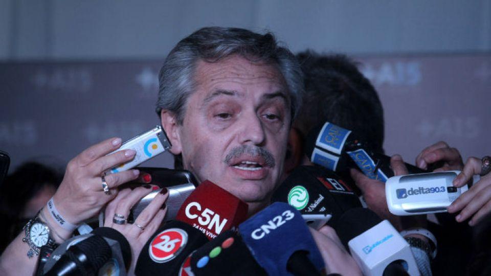 El ex jefe de Gabinete, Alberto Fernández.