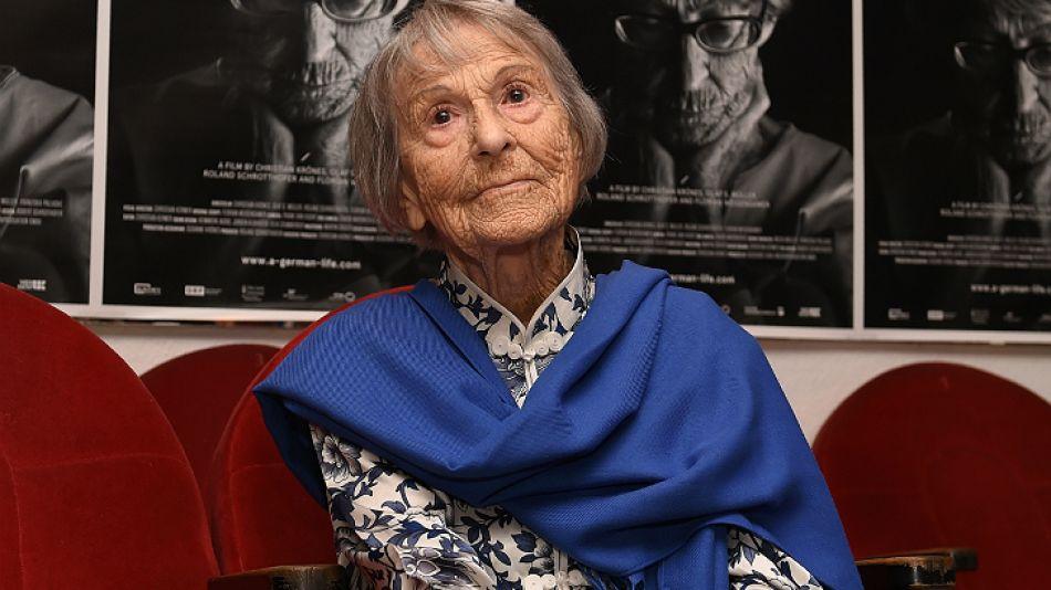 Brunhilde Pomsel, secretaria de Goebbels, murió a los 106 años