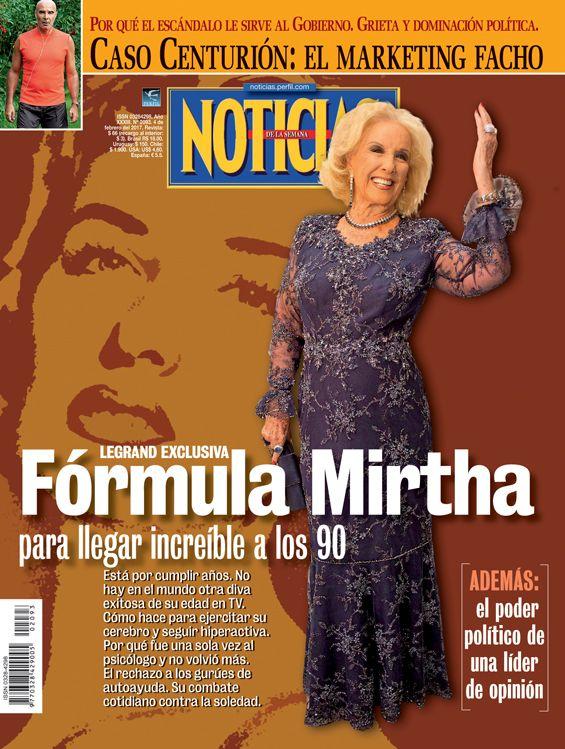 Tapa Noticias 2093: Fórmula Mirtha Legrand