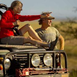 Safari en el Parque Nacional Gorongosa en Mozambique