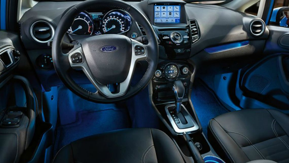 Parabrisas | Ford Fiesta Titanium, más conectado que nunca