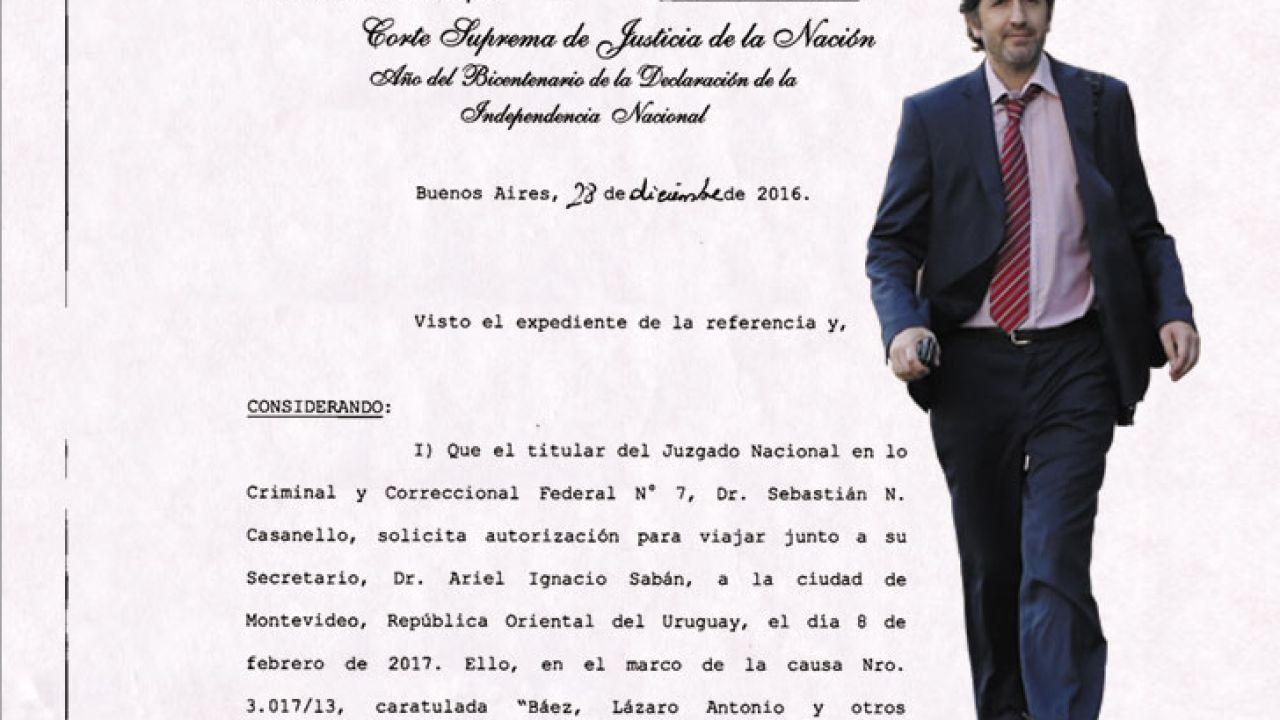 el-juez-casanello-viaja-a-uruguay-por-la-ruta-del-dinero-k