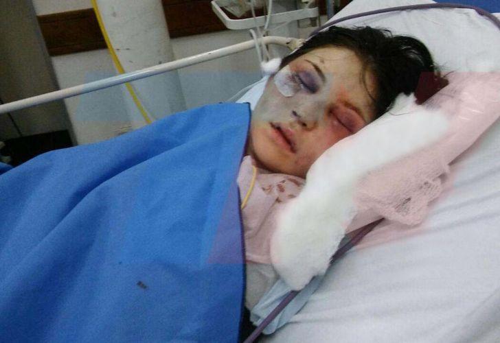 Habló la chica golpeada por el anestesista: \