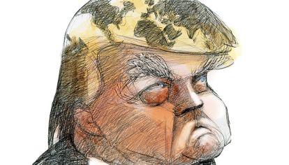 'HEMISFIERO' Donald Trump.