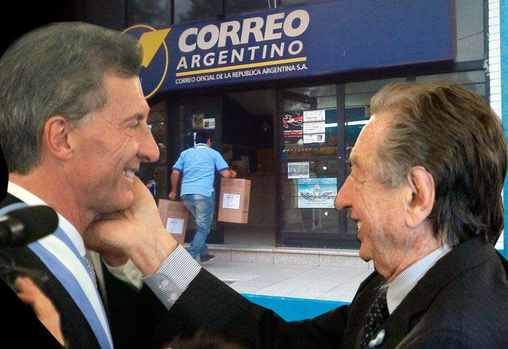 Mauricio y Franco Macri