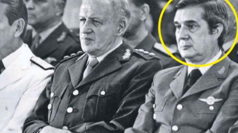 Basilio Lami Dozo, jefe de la Fuerza Aérea durante la guerra de 1982
