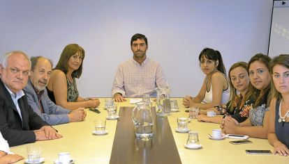 Cita. El titular de la Anses recibió el viernes a diputados opositores.