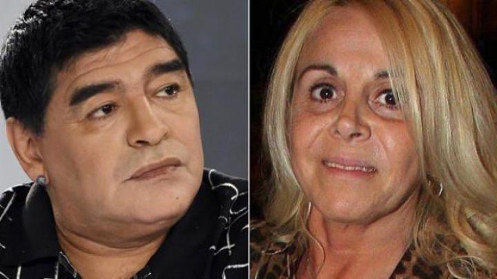 La furia de Claudia Villafañe con la productora que hace la serie Diego Maradona