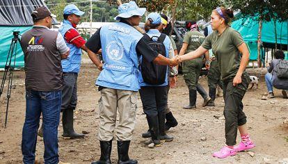Desarme. Según la guerrilla, el desarme en las Zonas Veredales Transitorias está demorado.