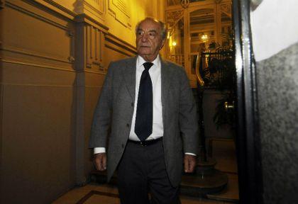 El titular del sindicato de empleados de comercio Armando Cavalieri.