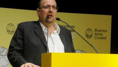 Javier Buján, interventor saliente del INADI.