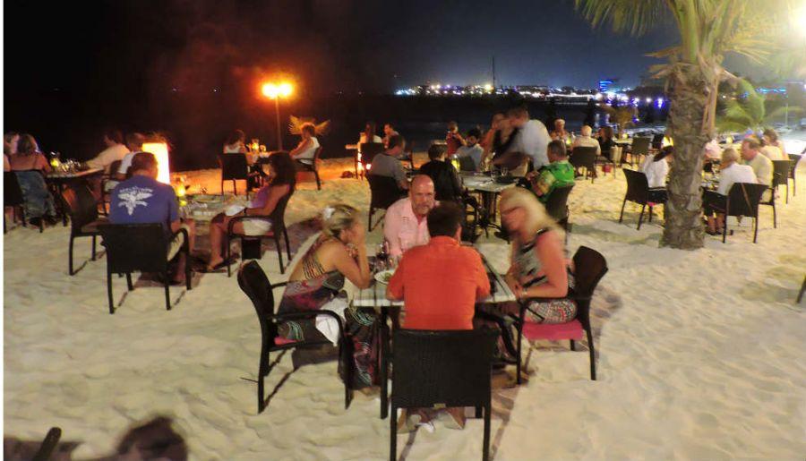 Aruba restaurante barefoot