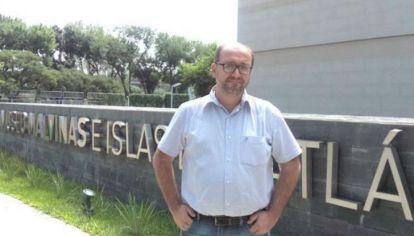 Federico Lorenz, director del Museo Malvinas.