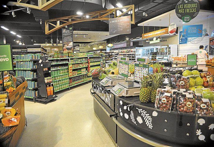 GONDOLAS. La inflación en alimentos alarmó al Central.
