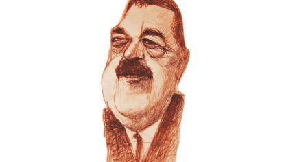 FELICES PASCUAS Raúl Alfonsín DIBUJO: PABLO TEMES