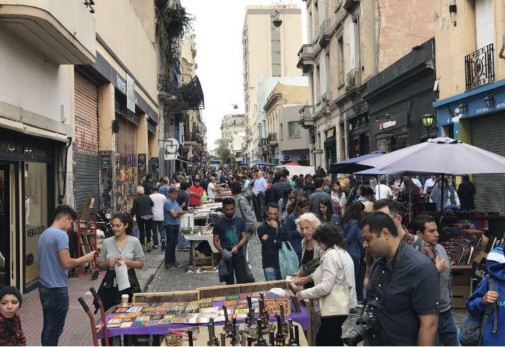 Noah Mamet se encuentra visitando Buenos Aires.