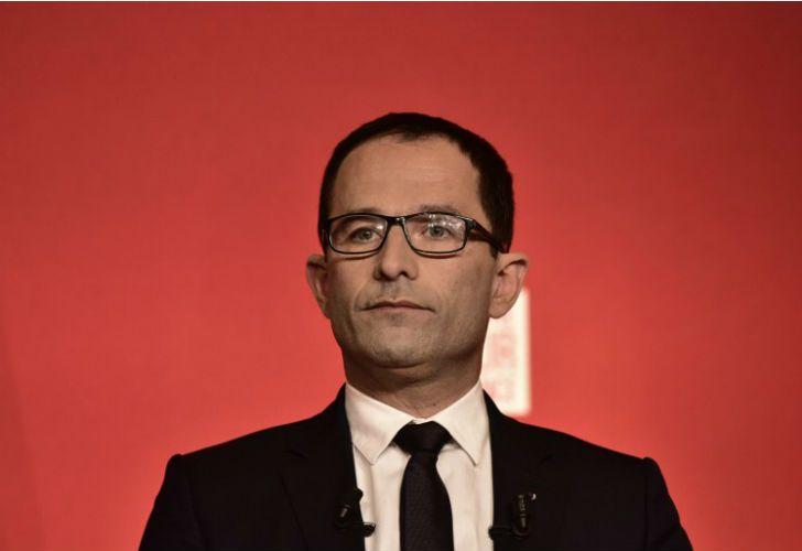 El dirigente francés, Benoit Hamon.