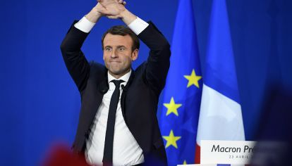 Macron, el nuevo personaje político de Francia.