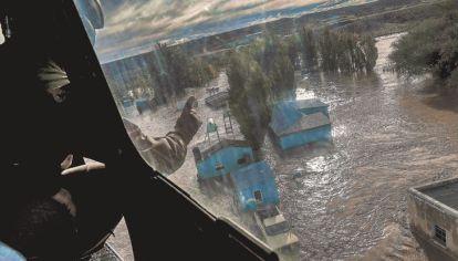 Salto arrasada. En las inundaciones, pudieron observarse imprevisiones en relación con la situación de los ríos vecinos, sumada la incidencia de más lluvias.