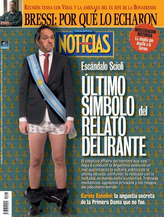 Esc ndalo scioli ltimo s mbolo del relato delirante for Revista primicias ya hoy