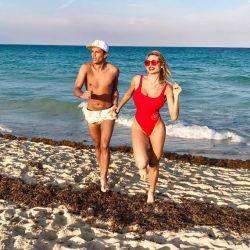 Xipolitakis junto a Galo en Miami