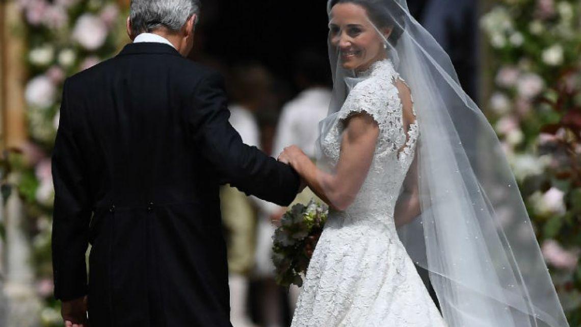 caras | las fotos más lindas de la boda de pippa middleton