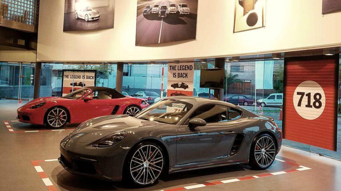 Parabrisas Nuevos Porsche 718 Cayman Y 718 Boxster