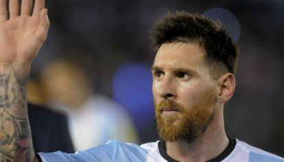 Messi no recibió ninguna sanción por insultar a un juez de línea.