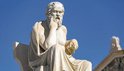 Socrates. Hace 25 siglos propuso construir una mejor civilización dialogando.